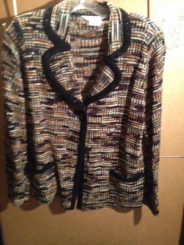 Woman's sweater jacket