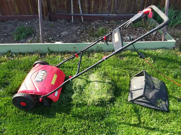 Craftsman Electric Power Rake Dethatcher This Is Not A Lawnmower