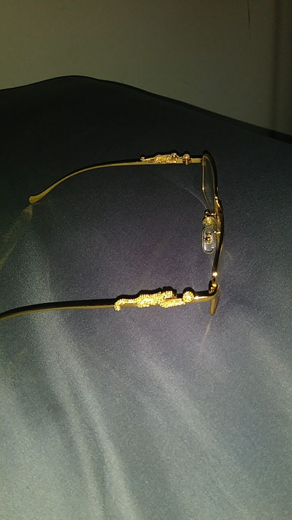 01bd17c958c Gold full rim panther frame Cartier glasses for Sale in Raleigh