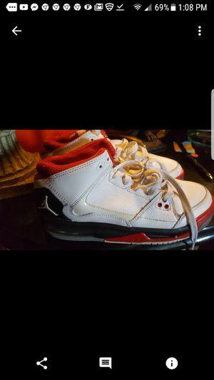 Nike Air Jordan Flight Origin Basketball Shoes White Red Black 4.5Y US for Sale in Tampa, FL