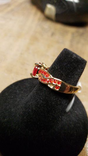 Red Ruby yellow Rhodium for Sale in Farmville, VA