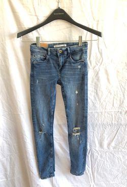 Lot of 5 Zara Denim Jeans. 4 size 34, 1 size 32 Thumbnail