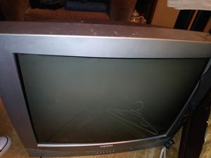 """27"""" old school tv works good 15$ for Sale in Lakewood, WA"""