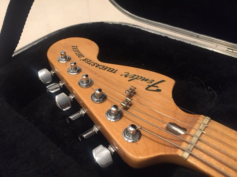 Fender Telecaster Classic '72 deluxe
