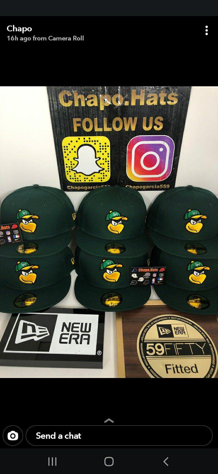 Caneros de los mochis new era fitted hats 40$ each