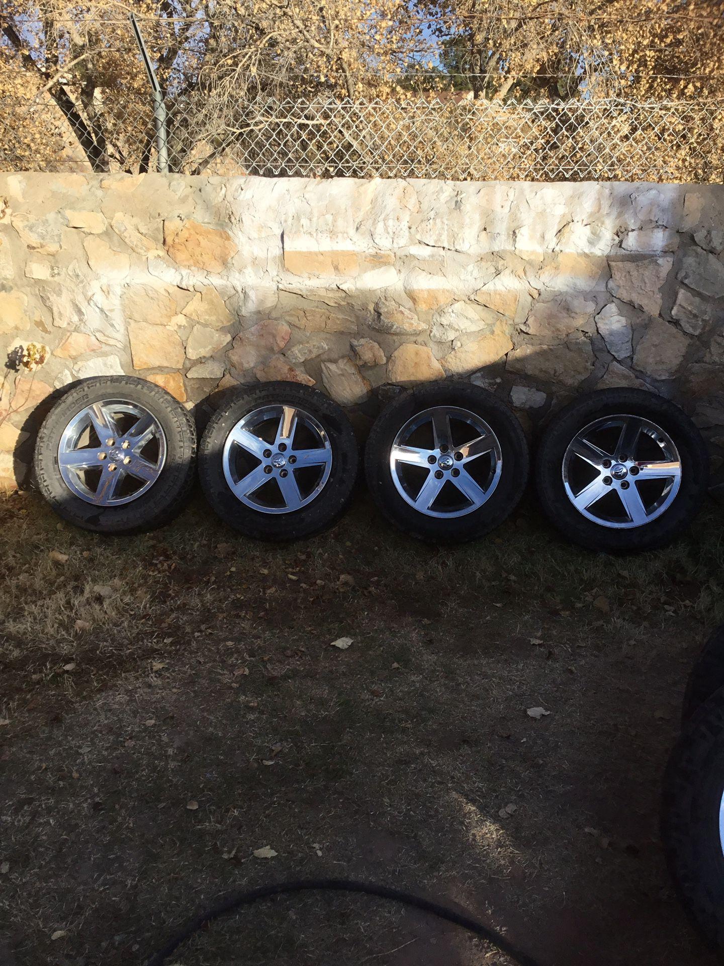 Dodge Ram Truck OEM Wheels And Tires