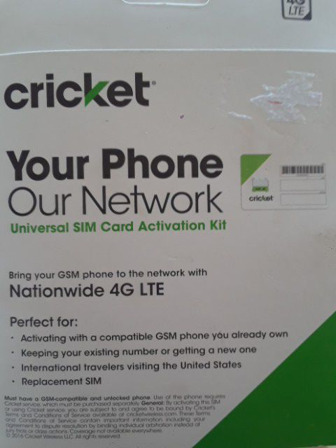 sim card activation kit for Sale in Las Vegas, NV - OfferUp