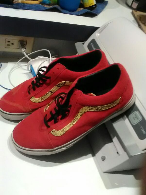 543f216fb85230 Red vans mens size 12 (Clothing   Shoes) in Panama City