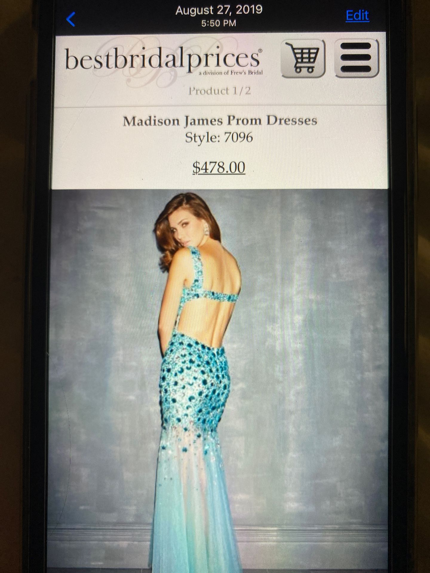 Madison James Prom Dress style:7096
