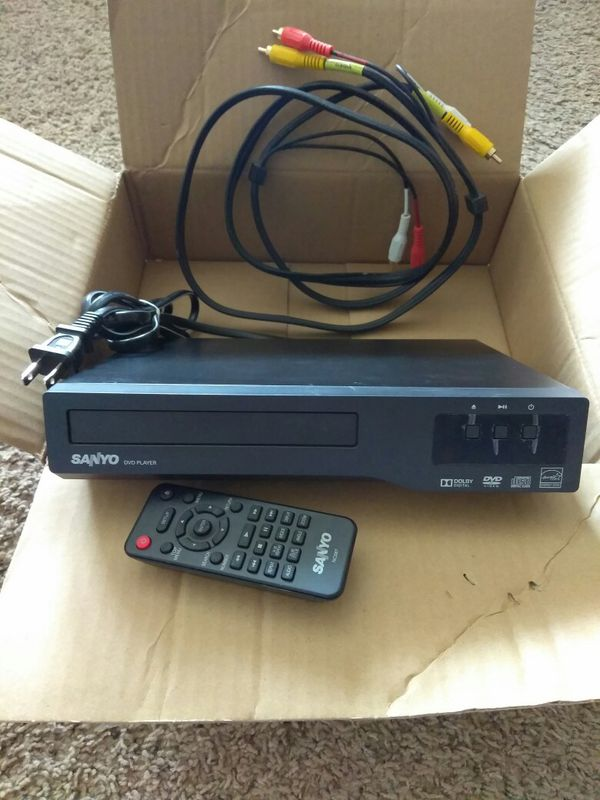 Sanyo DVD player with remote for Sale in Lubbock, TX - OfferUp