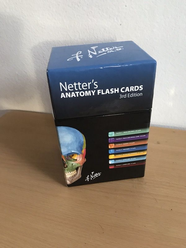 Netter\'s Anatomy Flashcards for Sale in Long Beach, CA - OfferUp