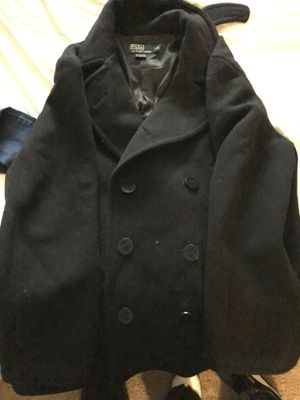 Men's P coat Polo size XL for Sale in Silver Spring, MD