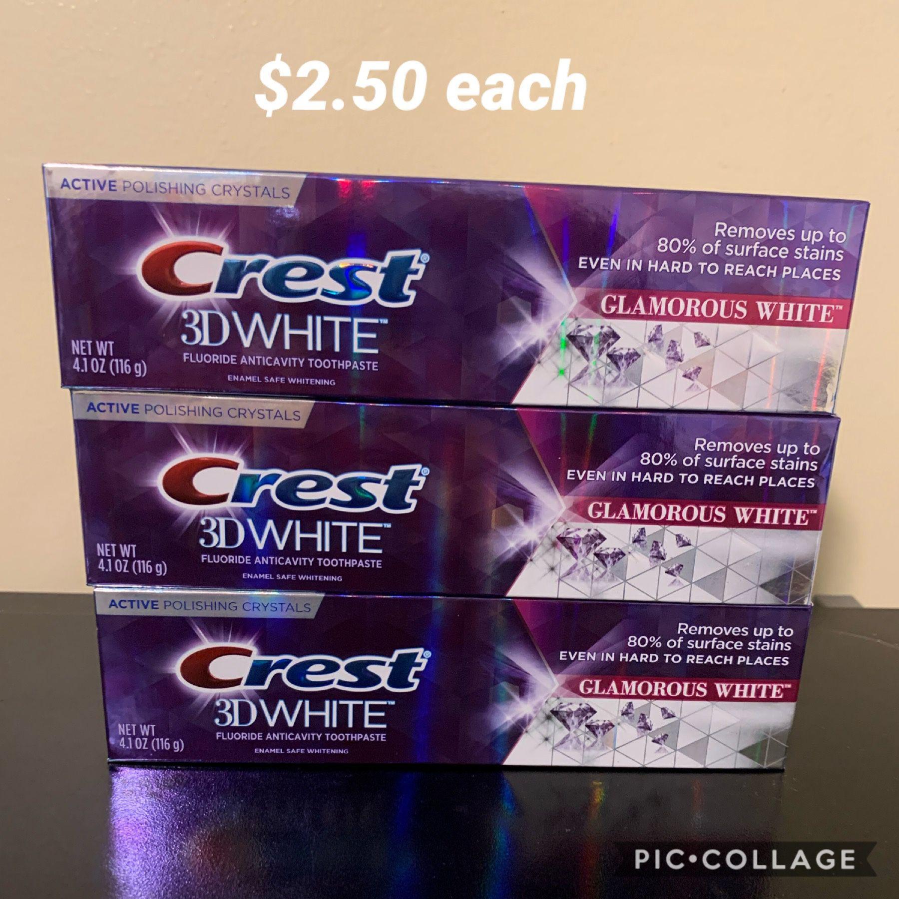Crest 3D White Glamours White