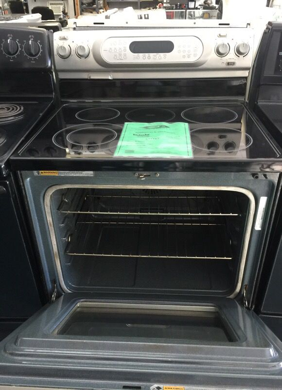 KitchedAid Stove-3 months warranty