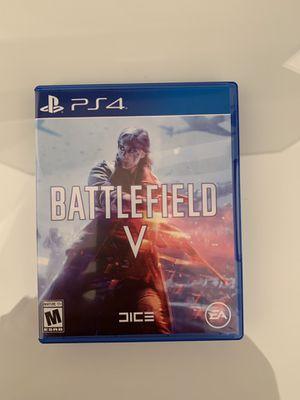 Battlefield 5 PS4 for Sale in Miami, FL