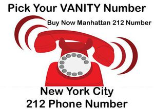 212 RARE VANITY NYC MANHATTAN AREA CODE PHONE NUMBER ON SIM for Sale in Brooklyn, NY