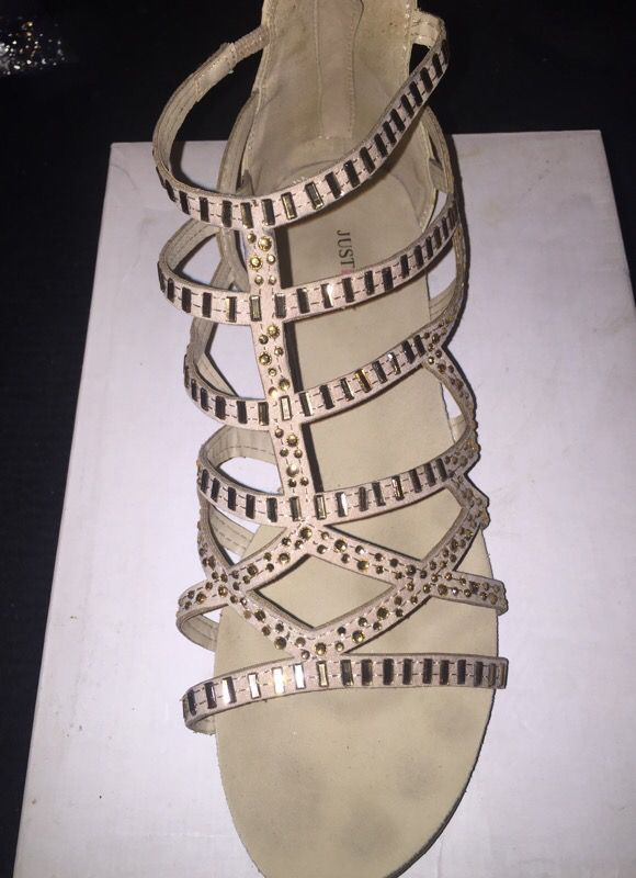 5ca30c8b0a0 JUSTFAB sandals for Sale in Fresno