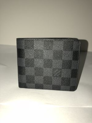 Louis Vuitton Black Damier Wallet for Sale in Waldorf, MD