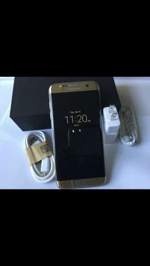 Samsung S7 Edge 32GB excellent condition factory Unlocked for Sale in Springfield, VA
