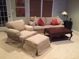 Ethan Allen Sofa, Chair and Ottoman for Sale in Woodbridge, VA