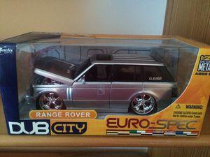 Rare Jada 1/24 Scale Range Rover Dub City Euro Spec Silver Color Die Cast for Sale in Ashburn, VA