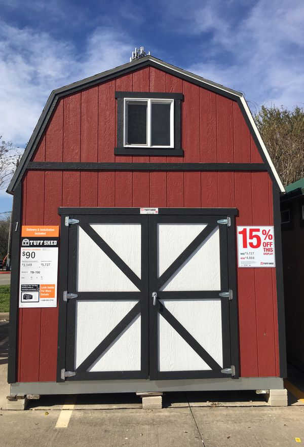 Tuff Shed at Baytown Home Depot for Sale in League City, TX - OfferUp