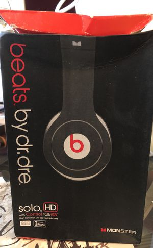 Beats by Dr Dre Solo HD for Sale in Chandler, AZ