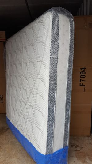 New King Size Pillowtop Mattress ONLY for Sale in Silver Spring, MD