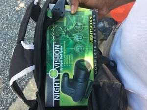 Night Vision Scope ! for Sale in Fort Washington, MD