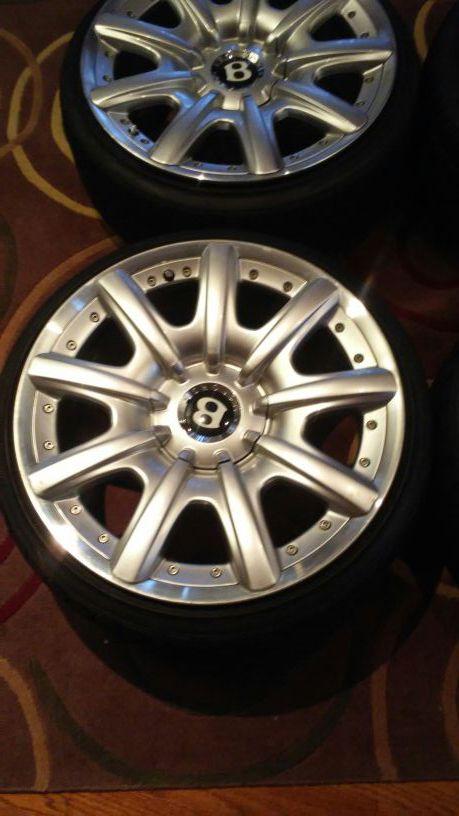 19x9 Bentley Wheels 5x112 et41