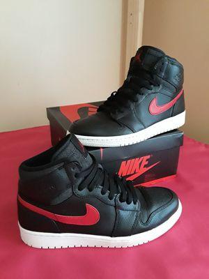 972ea3a2d938e6 Men s Nike Air Jordan 1 Retro High Rare Air Patch Bred Size 8.5 for Sale in