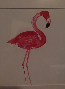 Flamingo print Thumbnail