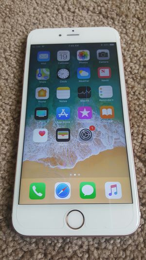 Iphone 6s plus Rose gold color 64gb storage unlocked for Sale in Stafford, VA
