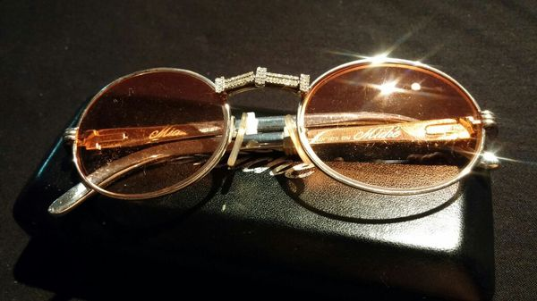 828b9e3a20e2 Iced Out Cartier Frames! for Sale in Lincoln Park