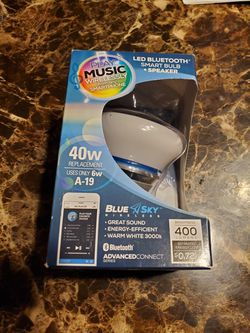 LED Smart Blub with Bluetooth Thumbnail