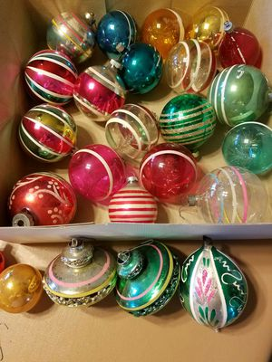vintage christmas ornaments for sale in franksville wi