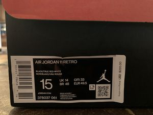 Photo Air Jordan 11 Retro Playoffs Bred - Brand New: Size 15