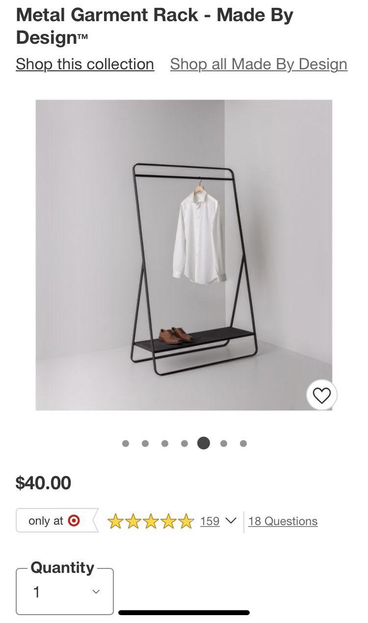Target Clothing Rack USED!!!!