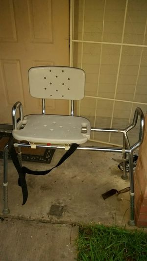 Heavy duty adjustable height adjustable width shower handicap chair ...