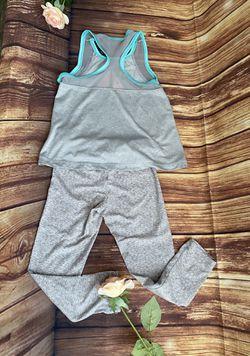 Reebok Toddler Girls Athletic Gray Set of 2pcs Sz 4 Thumbnail