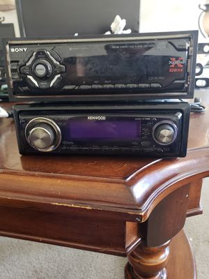 Kenwood and Sony explode CD stereo for Sale in Bedford, VA