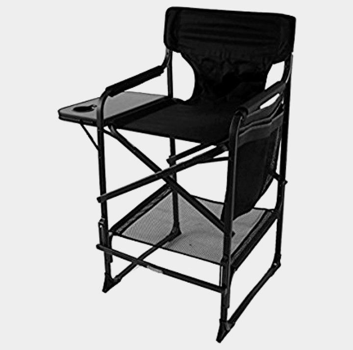 """Make Up Artist chair 29"""" with tray"""