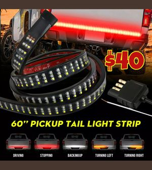 Photo 🚨🚦NEW 3X BRIGHTER TRUCK TAILGATE LED STRIP 3RD BRAKE LIGHT! 5 SIGNAL FUNCTIONS🚦🚨