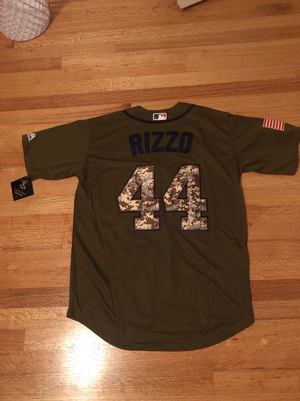 official photos 984a9 fd4fb Anthony Rizzo Cubs Salute to Service Jersey for Sale in York, PA - OfferUp
