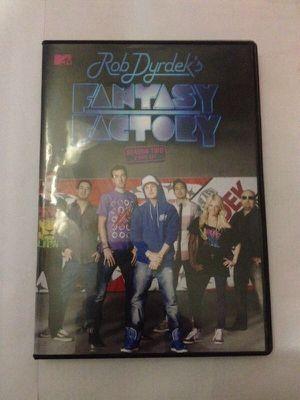 Rob Dyrdeks fantasy factory season 2 - 2disc set for Sale in Detroit, MI