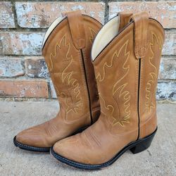 Old West Youth Western Boots  Thumbnail