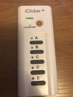 IClicker - Student Remote Thumbnail