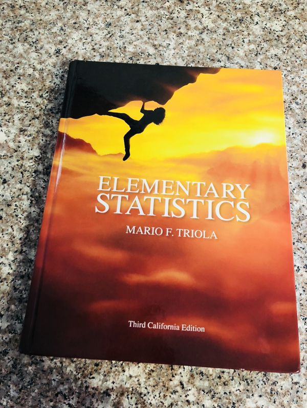 Elementary Statistics Textbook for Sale in Corona, CA - OfferUp
