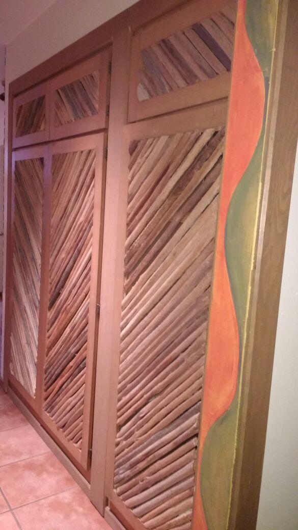 Saguaro Rib Cactus Kitchen Cabinet Doors For Sale In