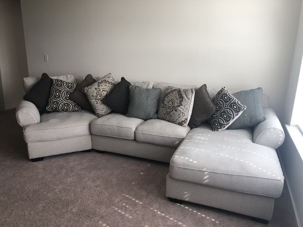 Gently Used 3 Piece Sectional Sofa New Orleans